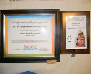 Pet Supplies 2012 Broward Walk Now for Autism Speaks – Bronze Team